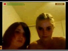 Hot Stickam capture with two amateur lesbians
