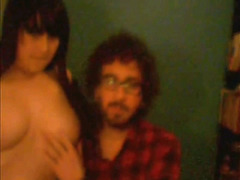 Old video from Skype - Couple fuck