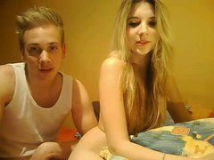 Amazing couple fuck on webcam