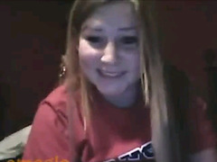 Omegle video Busty college girl fingering