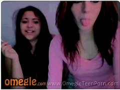 Two dorm girls flashing on Omegle