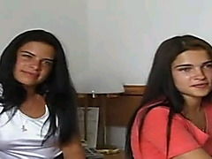 Two Russian teens fuck on casting
