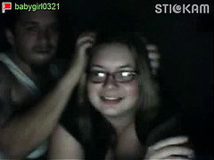Real amateur couple fuck on Stickam