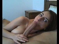 This Girlfriend really loves and knows how to suck cock